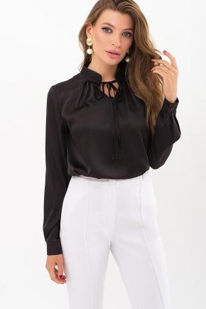 Блуза Калипса д/р. Цвет: черный