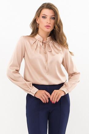 Блуза Калипса д/р. Цвет: св. бежевый