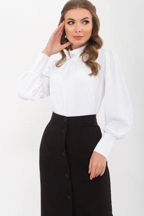 Блуза Селиана д/р. Цвет: белый