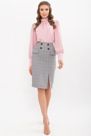 Блуза Селиана д/р. Цвет: пудра