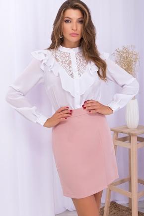 Блуза Фезалия д/р. Цвет: белый