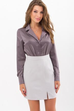 Блуза Бетани д/р. Цвет: серый
