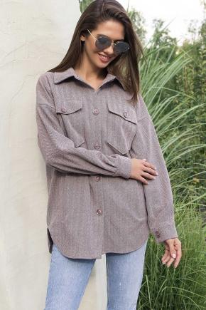 Рубашка Антея д/р. Цвет: капучино