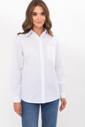 Рубашка Эсмеральда д/р. Цвет: белый