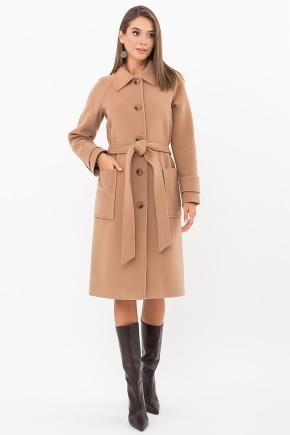 Пальто П-420-105. Цвет: 239-бежевый