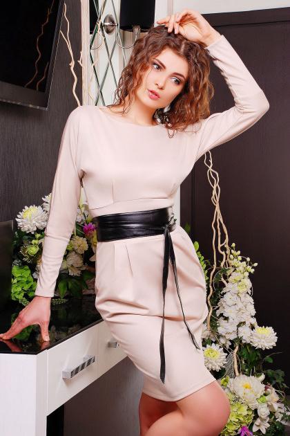 . платье Эвелина д/р. Цвет: молоко