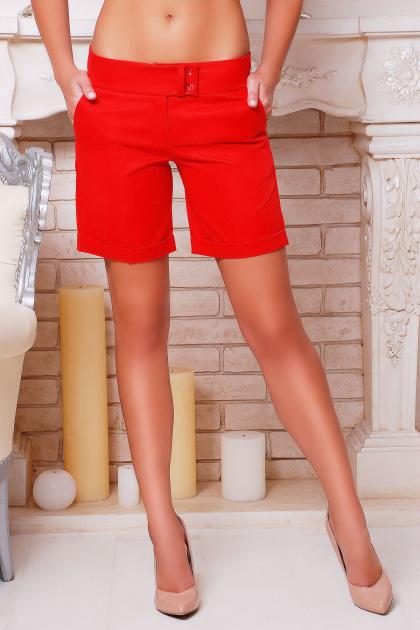 длинные шорты синего цвета. шорты Хилтон2 (длинные). Цвет: красный