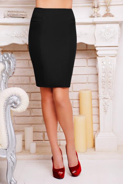 . юбка мод. №16. Цвет: черный