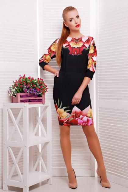 . Лотос платье Эльза д/р. Цвет: принт