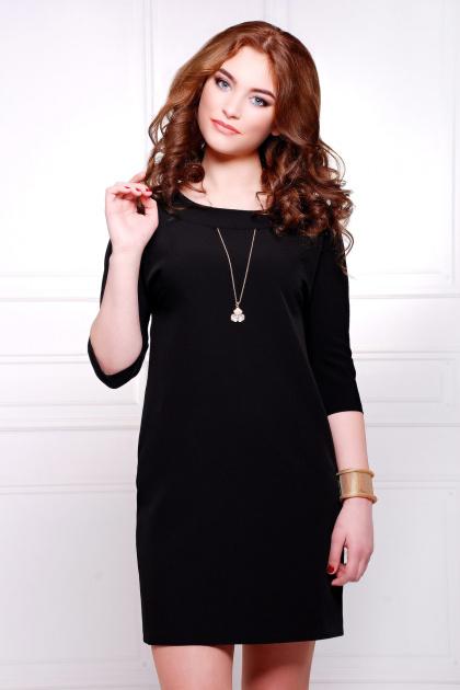 . платье Элика д/р. Цвет: черный