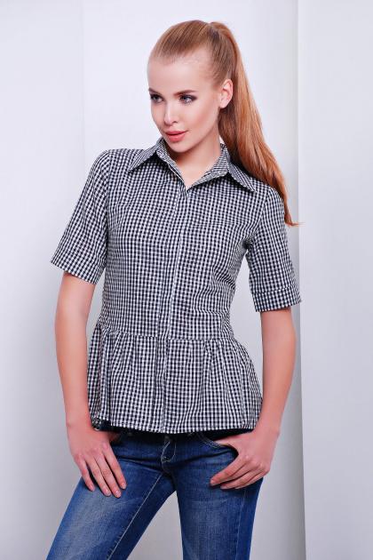 Купить блузку с баской женскую