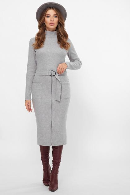 . Платье Виталина 1 д/р. Цвет: св. серый