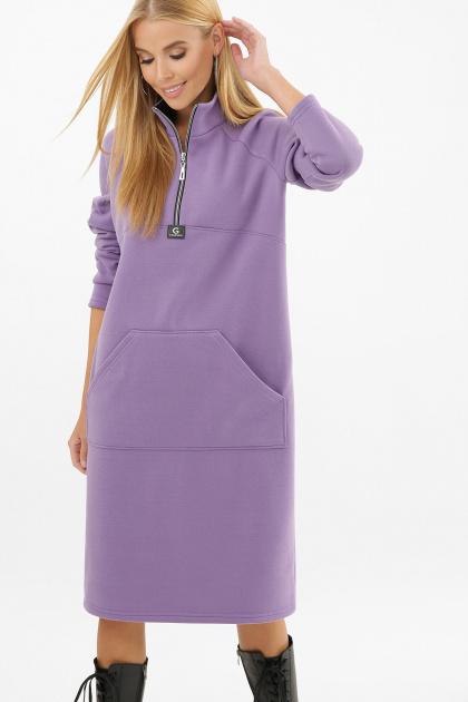 . Платье Айсин д/р. Цвет: сиреневый