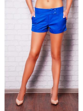 Женские короткие классические шорты. шорты Хилтон2 (короткие). Цвет: электрик