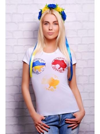 . Made in Ukraine Футболка-2В. Цвет: принт