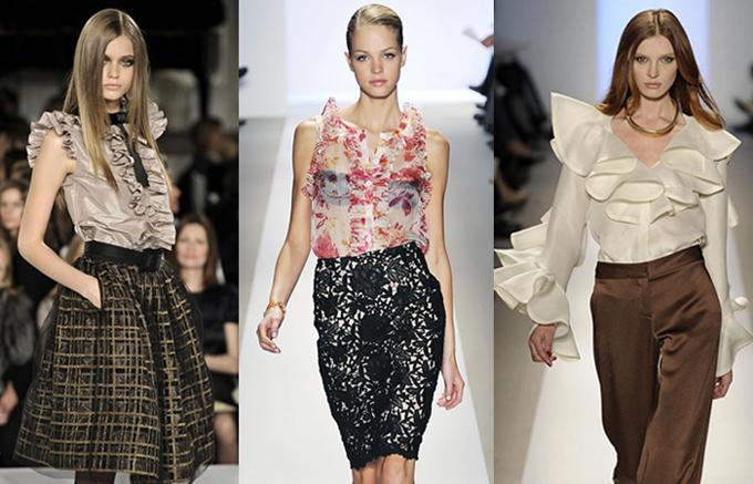 История возникновения женской блузки 2 | модные