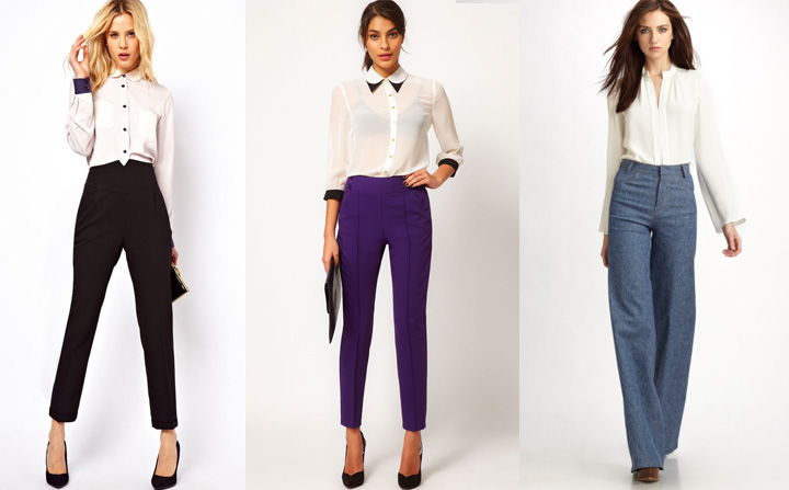 С чем носить классические брюки - Hochu ua