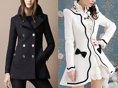 Модные женские пальто нового сезона